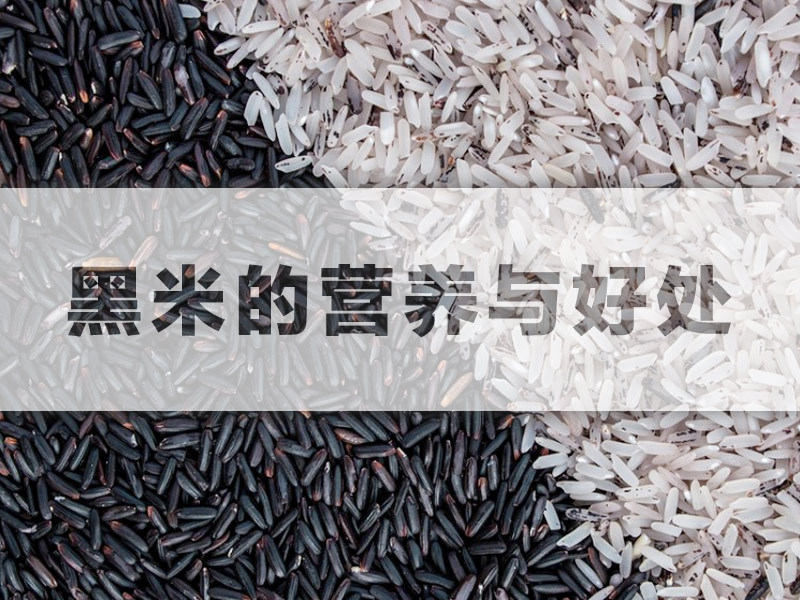 OXYGN黑米的营养与好处