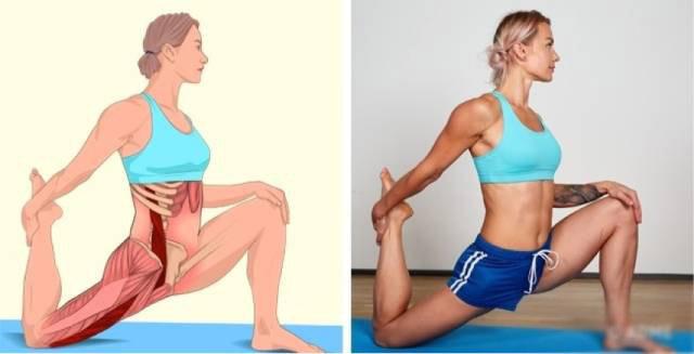 OXYGN另外6张高清瑜伽体式解剖图,精确科学拉伸很重要!(3)